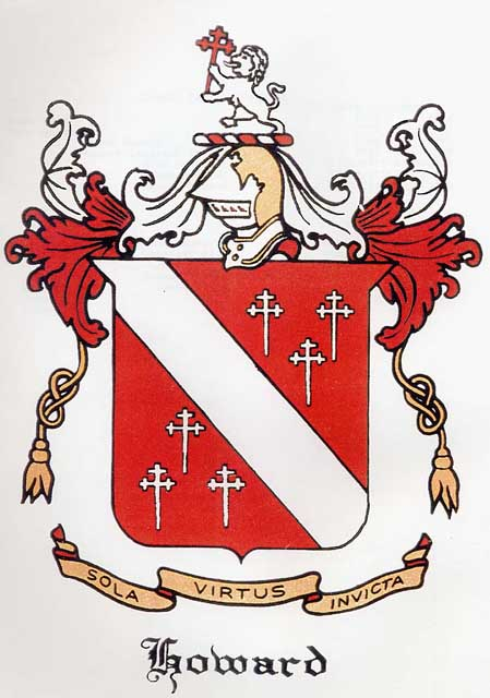Documents Howard Family Crest John And Susan Howells Family